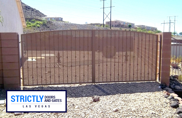 Las Vegas Rolling Gates Sliding Gates Company Strictly