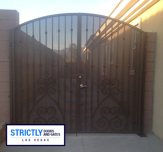 double-side-yard-2 & Las Vegas RV Gates / Double Side Yard Gates Company | Strictly Doors ...