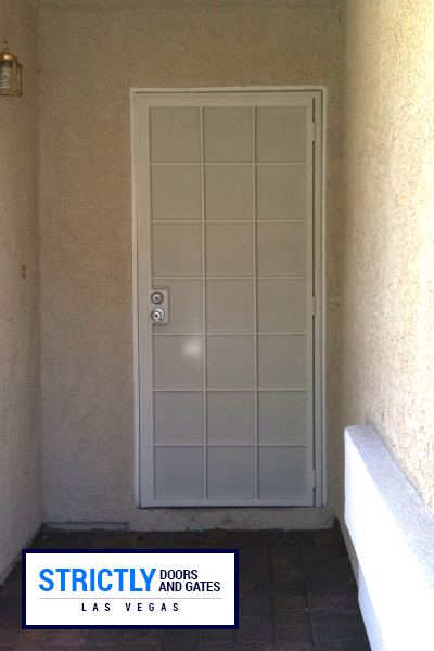 Las Vegas Single Security Doors Company Strictly Doors