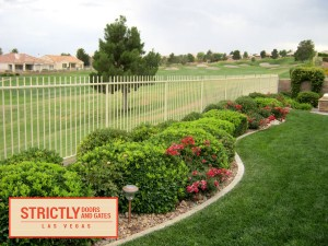 Iron Fencing in Las Vegas by Strictly Doors and Gates