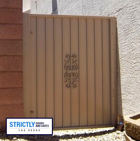 sideyard gate 12