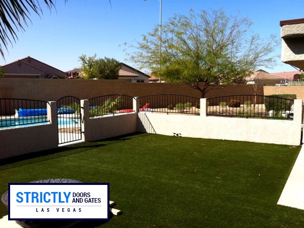 Iron Pool Fencing In Las Vegas Strictly Doors And Gates