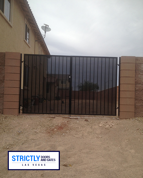 Las Vegas Rv Gates Double Side Yard Gates Company