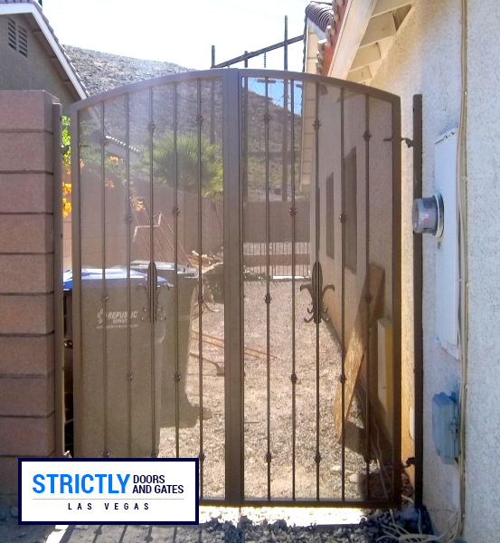 Las Vegas Security Iron Gate Company Strictly Doors And
