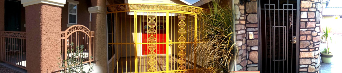 Courtyard Entry Gates Las Vegas Strictly Doors And Gates